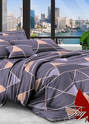 Двуспальный комплект постельного белья, ткань: polycotton.