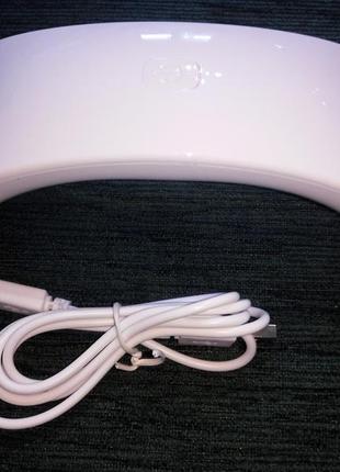 Светодиодная уф лед лампа для гель лака 9 вт. uv led