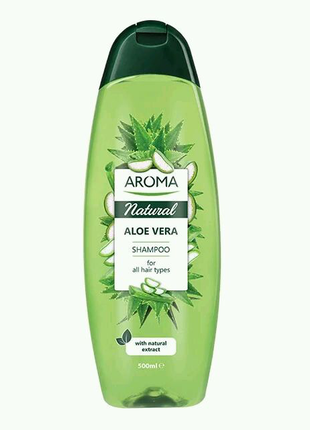 "Шампунь для волос Aroma Natural ""Алоэ Вера""  500ml"