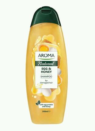"""Шампунь для волос Aroma Natural """"Яичный"""" 500 ml"""