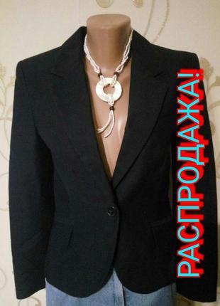 Zara . чёрный пиджак жакет блайзер . новый без бирочек