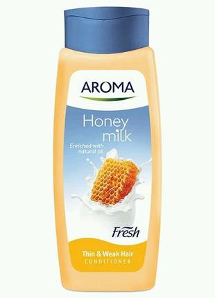 "Кондиционер для волос Aroma Fresh ""Мед - молоко"" 400 ml"