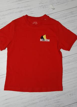 Яркая футболка из хлопка 110-116,  4-6 лет lidl, германия