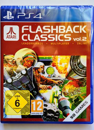 ATARI Flashback Classics Vol 2 PS4 НОВЫЙ диск