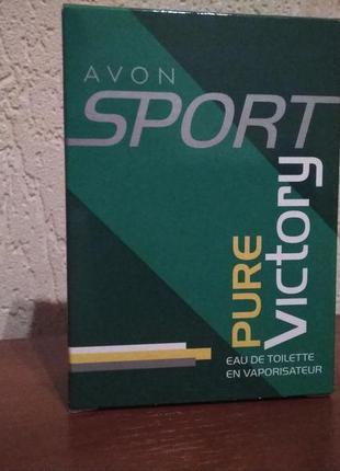 Туалетная вода avon sport pure victory  50 мл
