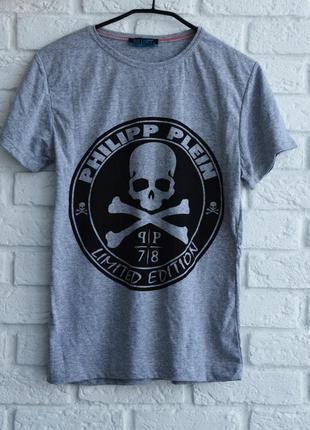 Мужская футболка philipp plein