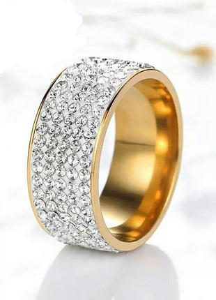 Интересное оригинальное кольцо с камешками. очень качественная...