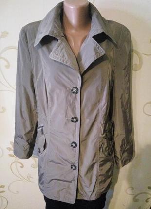 Брендовая непромокаемая куртка дождевик от barbara lebek . бол...