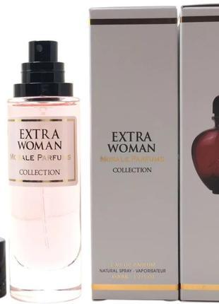 Парфюмированная вода для женщин версия paco rabanne black xs p...