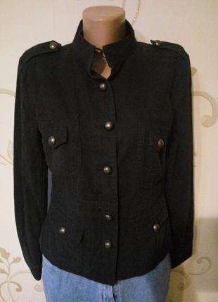 Классная куртка ветровка пиджак тренч . хлопок коттон плотный....