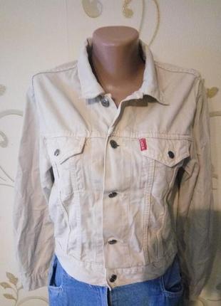 Классная коротенькая джинсовая куртка пиджак жакет cars jeans....
