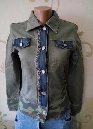Etien ozeki . дизайнерская котоновая куртка ветровка пиджак