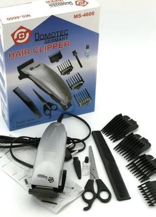 Машинка для Стрижки Волос Domotec MS 4600 , триммер, НОВАЯ