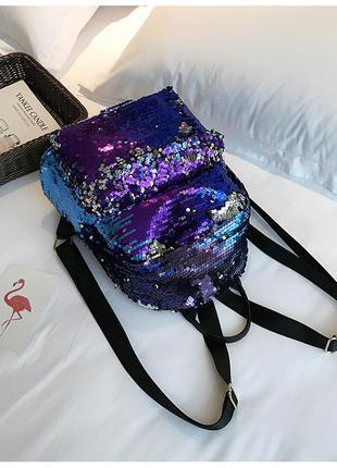 Рюкзак хамелеон с пайетками 16 л