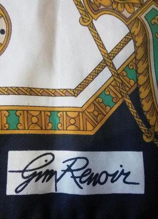 Платок gim renoir роуль подписной 75*76