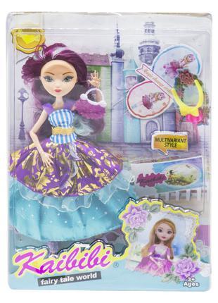 "Кукла ""KAIBIBI: Fairy Tale World"" с аксессуарами (фиолетовый) JIA"