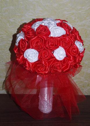Букет розы  ручной работы hand made