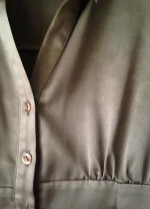 Шикарная атласная блуза!