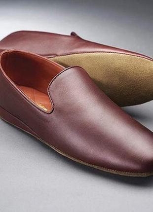Кожаные тапочки samuel windsor