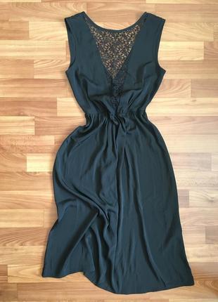Вечернее платье с мега крутой спинкой asos