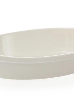 """Форма овальная """"White"""" (33,5х23 см.)"""