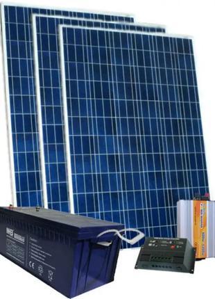 Комплект аварийной автономной солнечной станции