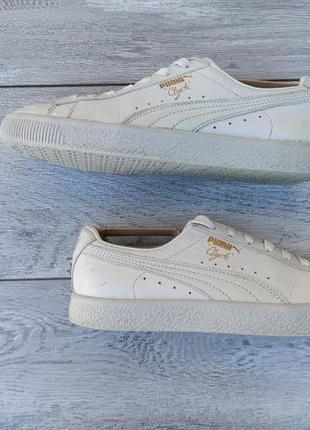 Puma clyde мужские кожаные кроссовки оригинал весна