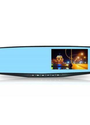 Зеркало регистратор DVR L900 Full HD с выносной камерой заднег...