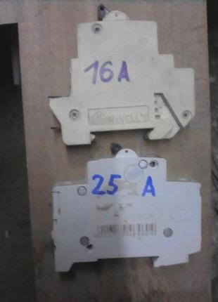 /// Автомат на 16А,  25А