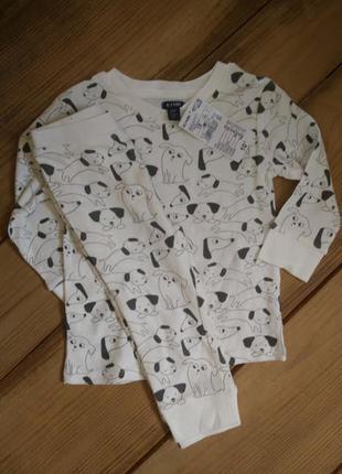 Хлопковая пижама kiabi(франция), 77/82(18 мес.)