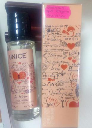 Женская парфюмированная вода i love you, 30 мл