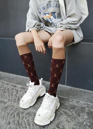 7-2 довгі гольфи шкарпетки длинные гольфы носки