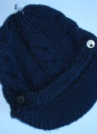 Красивая шапка с козырьком женская подростковая бренд kiabi - ...