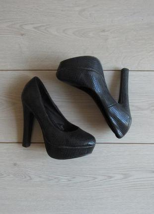 Акция на обувь!!!=198 туфли на высоком каблуке удобные размер ...