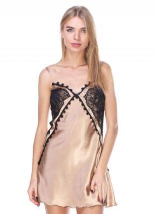 Сорочка жіноча з сатин шовку