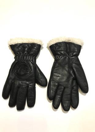 Продам кожаные мужские зимние перчатки