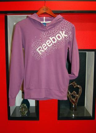 Reebok! женская толстовка с капюшоном, оригинал! можно для спорта