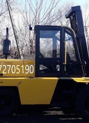 Полный капитальный ремонт Львовских погрузчиков, установка дизель