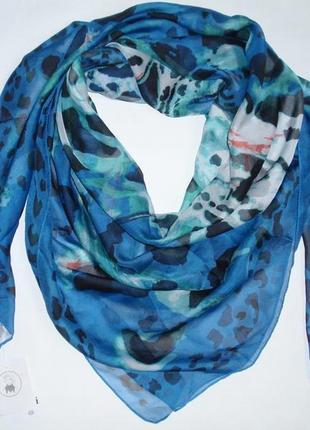 Красивый платок шарф шифон бренд c&a, германия