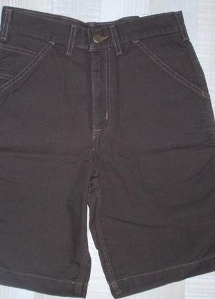 Шорты коттоновые джинсовые для мальчика carhartt