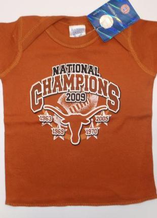 Красивая футболка для малыша мальчика хлопковая хлопок - америка