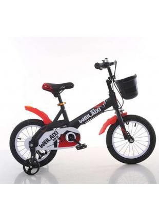Детский велосипед Weilaixi 876 синий от 5 лет 16 дюймов