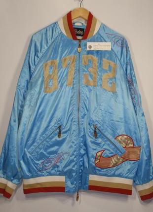 Куртка ветровка бомбер реперка бренд eight 732 америка. оригин...