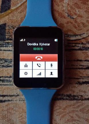 Новые смарт часы UWatch A1 с SIM-картой (телефон) Smart Watch A1