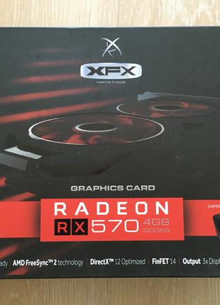 Відеокарта видеокарта XFX RS XXX Edition RX 570 4 GB