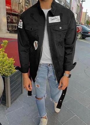 Мужская джинсовая куртка HB