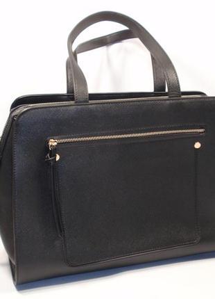 Стильная вместительная женская сумка бренд c&a германия