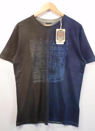 Стильная футболка мужская хлопок немецкий бренд gin tonic р. xl