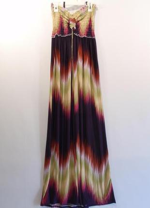 Распродажа -30 -сарафан платье макси в пол бренд aftershock - ...
