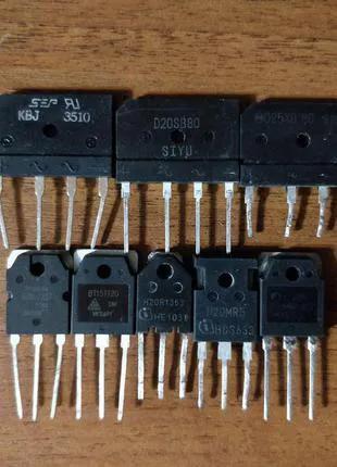 KBJ3510, D25XB80. D20SB80 - диодный мост для индукционной плиты